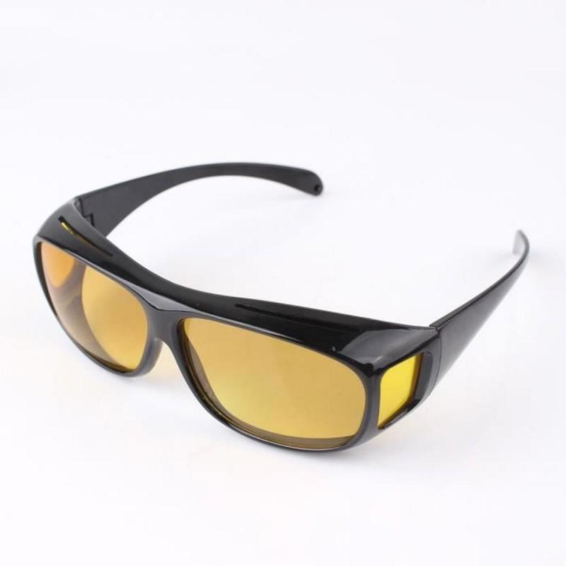 Café Unisex Hd Goggle Lunettes Soleil Uv Protection Nuit Vision Conduite Nocturne + Cadeau
