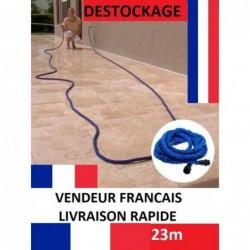 Tuyau D'arrosage Extensible RÉtractable 23 M. DÉstockage Neuf