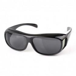 Noir Unisex Hd Goggle Lunettes Soleil Uv Protection Nuit Vision Conduite Nocturne + Cadeau