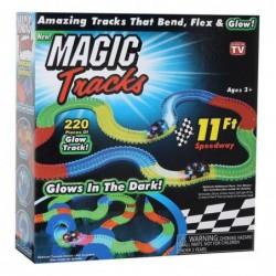Tracks Magiques Circuit De Voiture Flexible