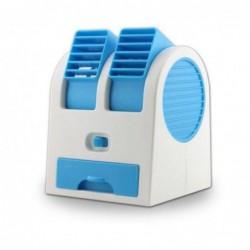 Mini Climatiseur Ventilateur Usb Bleu