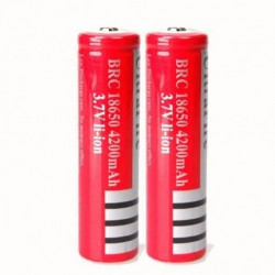 3.7v Rechargeable Ultrafire 18650 Batterie Rechargeable 4200 Mah @los326