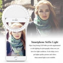 Universal Led Photographie Flash Light Up Selfie Lumineux Lampe Nuit Téléphone Anneau Pour Iphone Se 5 6 6 S...