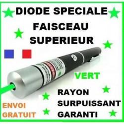 New Stylo Pointer Pointeur Laser Vert Green Visible 5mw Portée Jusqu'a 5 Kms En Stock Envoi Rapide Gratuit Id...