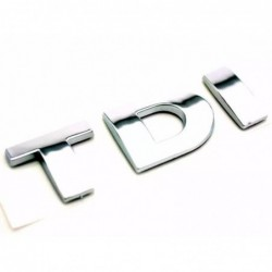 "My-deal Logo ""tdi"" Chrome Sticker Arriere Voiture-auto Embleme Badge 3d Pour Volkswagen Vw Golf Polo Jetta Mk6..."