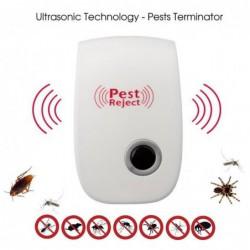 Repulsif Insectes Rongeur Anti-nuisibles à Ultrasons Electronique Pest Repeller Pour Anti Rats