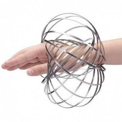 Kinetic éducatif Spring Toy - Multi Sensorielle Interactif En Forme D'anneau De Flux 3d