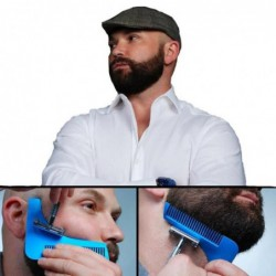 Complète Beard Shaping Outil Avec Peigne