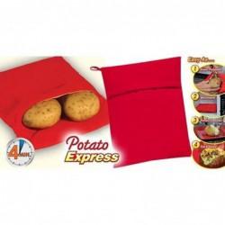 Sac De Cuisson Micro Onde Patate Express En 4mn