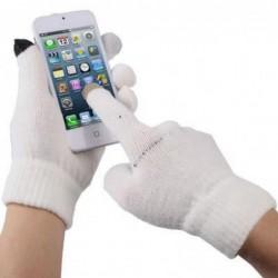 Gant Tactile Smartphone Blanc