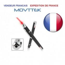 Pointeur Laser Rouge 5mw Movttek®