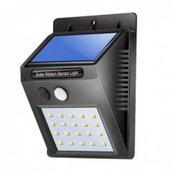 Solar Powered Etanche 20leds Lampe Exterieure Solaire Lampes Appliques Super Lumineux Led Jardin Detecteur De ...