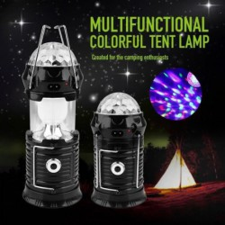 Lampe Solaire Rechargeable De Lampe-torche De Lampe De Camping De Lanterne De Lampe De Lanterne De Lanterne @l...