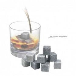 Cubes Glacons à Whisky En Pierre Refrigerants