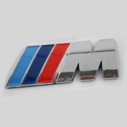 Bmw 3d Chrome Badge Abs Plastique