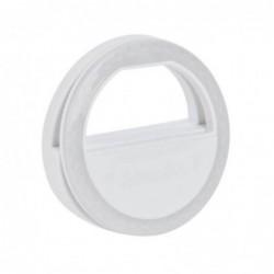 Coolead ® Lumière Pour Selfie à Pince Portable Avec 36 Led Pour Tous Les Smartphones - Blanc