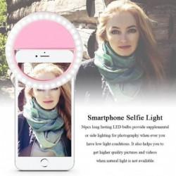 Super Lumineux 36 Led Selfie Anneau Lumière Nuit L'obscurité Selfie Améliorer Clip Sur Iphone Samsung Xiaom...