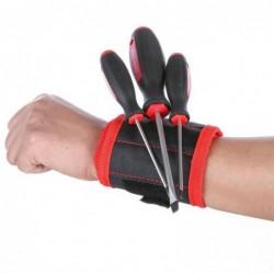 3 Outil De Poche Magnétique Ceinture Wristband Vis Sac Pochette De Travail Tenue Helper@ym-2148
