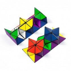 Magic Star Cube Transforming Geometric Puzzle Toys For Kids And Adults(2 Pieces) 2drm92