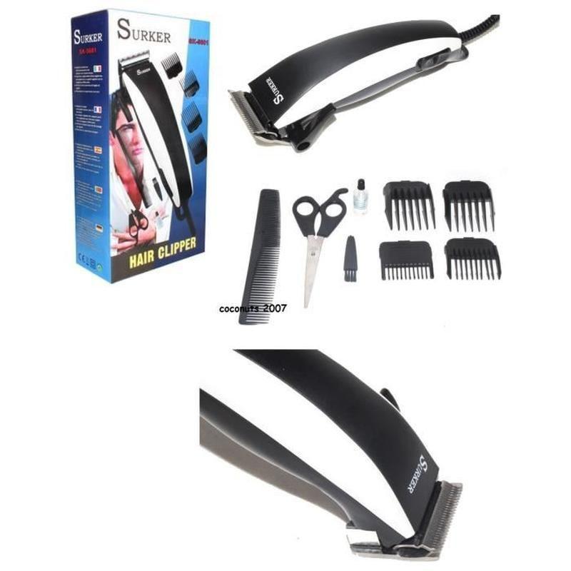 Tondeuse Cheveux Electrique Pro+8 Accessoires Neuf