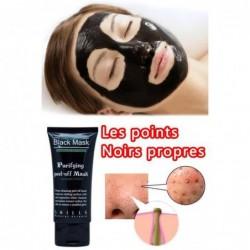 50ml Black Deep Pore Cleansing Purifiant Blackhead Enlèvement Peel-off Masque Facial
