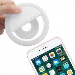 36-led Smartphone Selfie Anneau De Lumière Lumières De Remplissage Rechargeables 4 Modes Srtobe Clip Sur Iph...