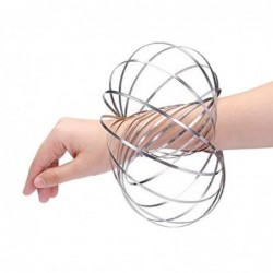 Anneaux De Flux Kinetic Spring Bracelet Sensory Interactive Cool Jouets-1074