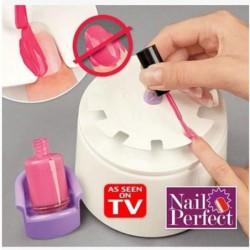 Manucure Home Nail Perfect Salon Appareil Application Vernis à Ongles + Stickers