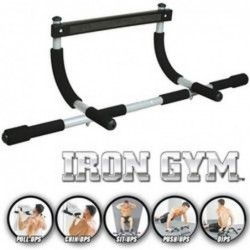 Barre De Traction Et Musculation Iron Gym