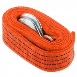 Sangle Cordon De Remorquage Remorque Dépannage 3m 3 Tonnes Pour Voiture Orange